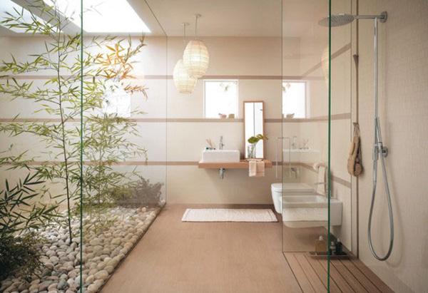 Japanese Minamilist bathroom