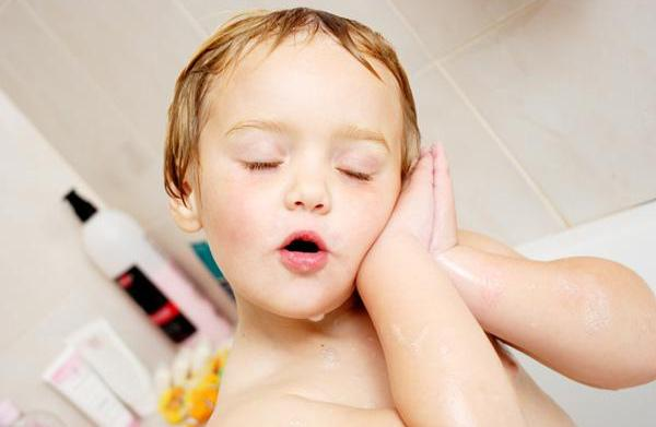 Soothing bath time rituals