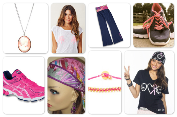 breast cancer awareness shopping guide: Clothing and accessories
