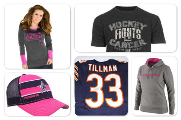 breast cancer awareness shopping guide: Sports apparel