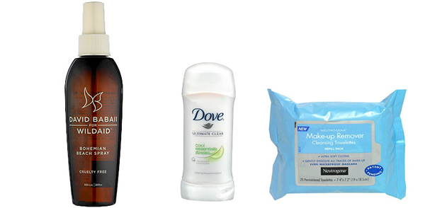sun protection and beach must-haves