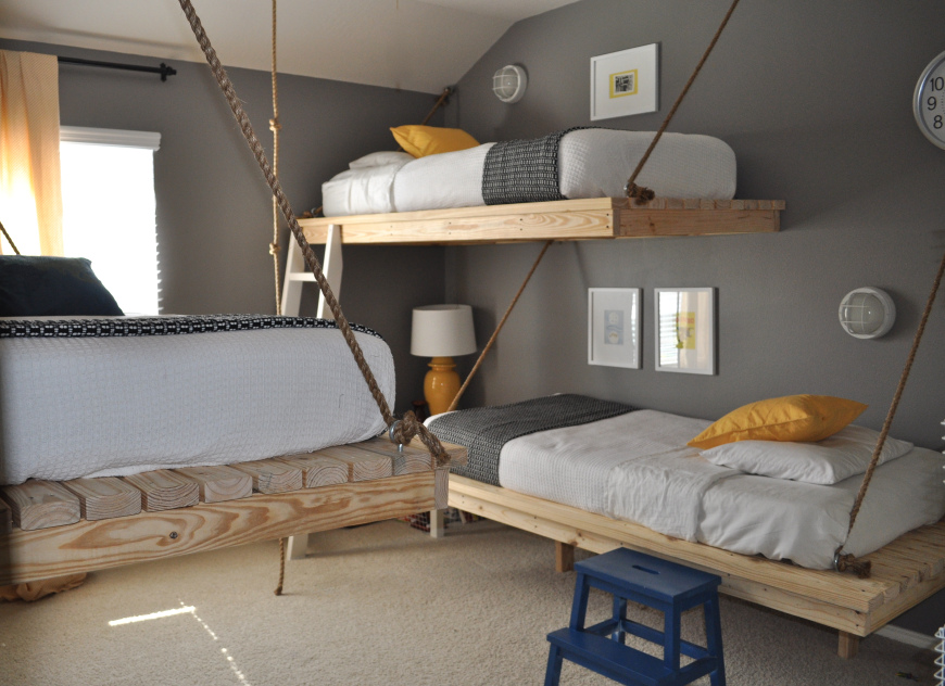 10 Cool Beds To Hang From Your Ceiling Sheknows