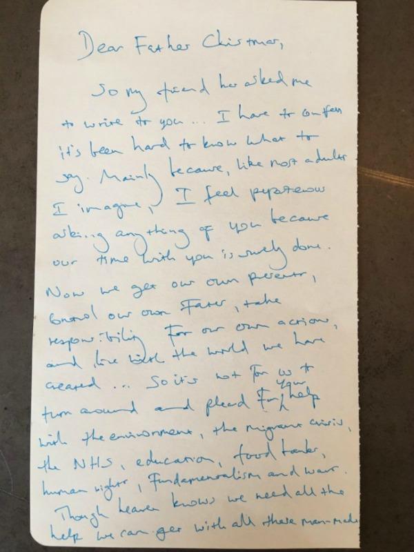Benedict Cumberbatch Letters Live