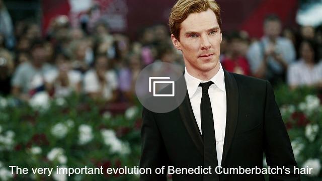 benedict cumberbatch hair slideshow