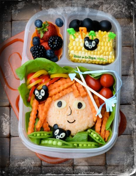 Brave inspired school lunch for kids - Bento Box