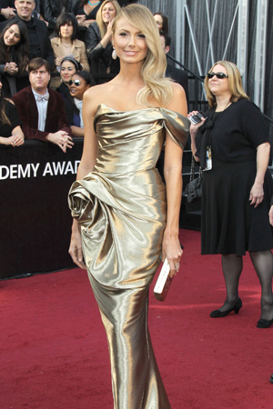 Oscars Best Dressed -- Stacy Keibler