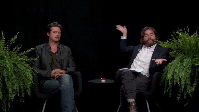 Brad Pitt on Between the Ferns