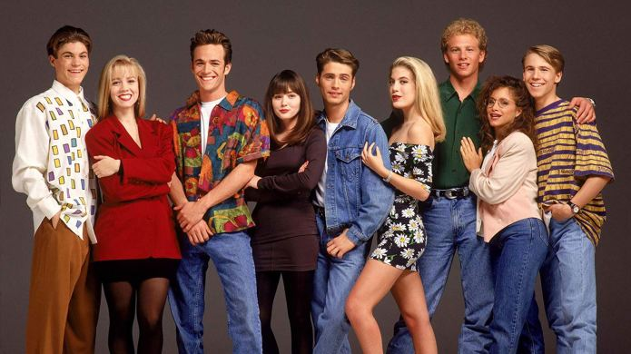 The 'Beverly Hills, 90210' Cast Came