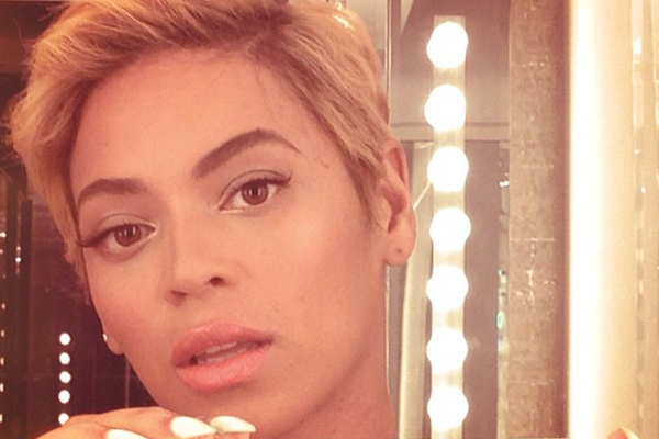 Beyonce short pixie haircut