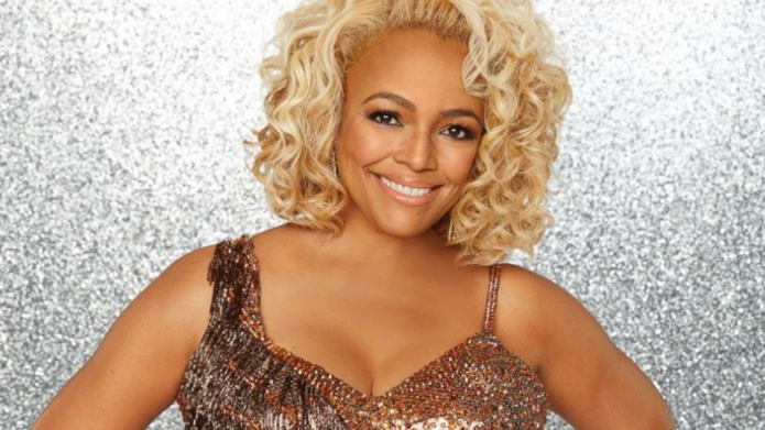 Watching Kim Fields on DWTS takes