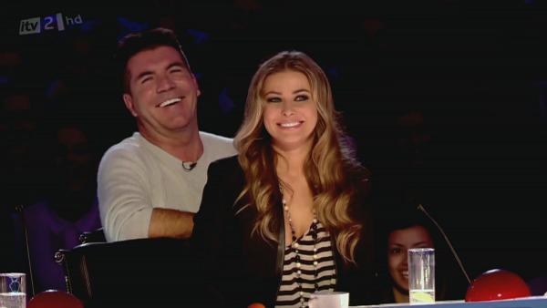 Simon Cowell admits he's dating Carmen