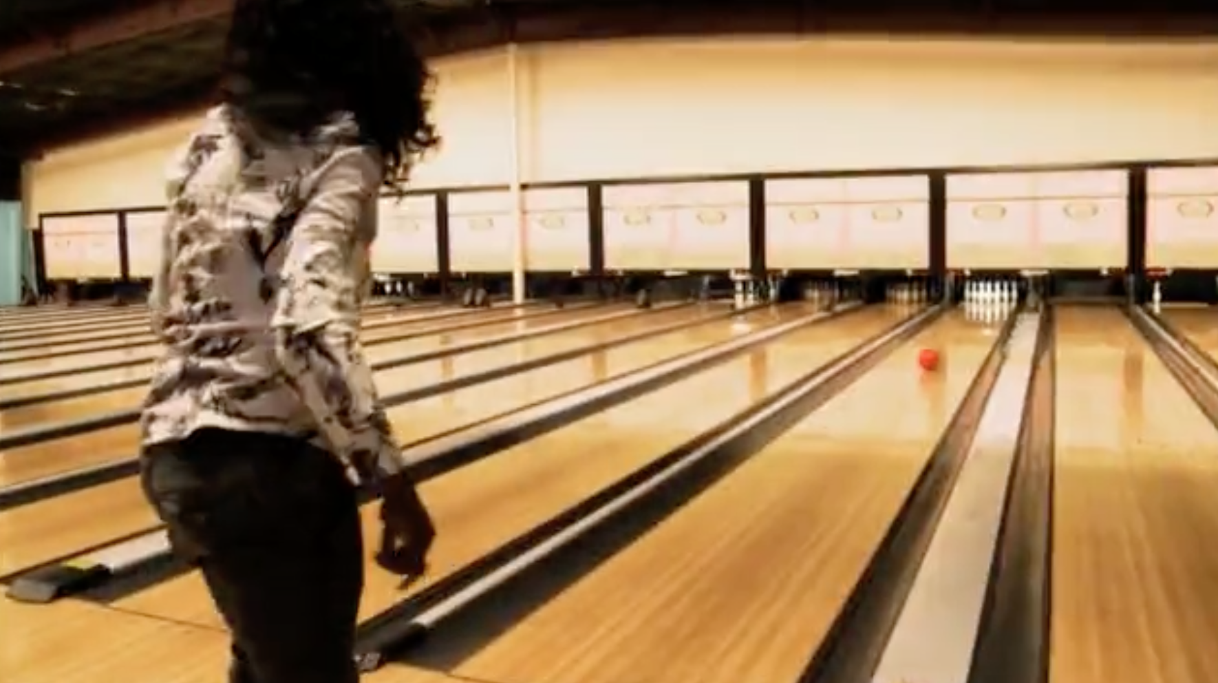 Big Freedia bowling