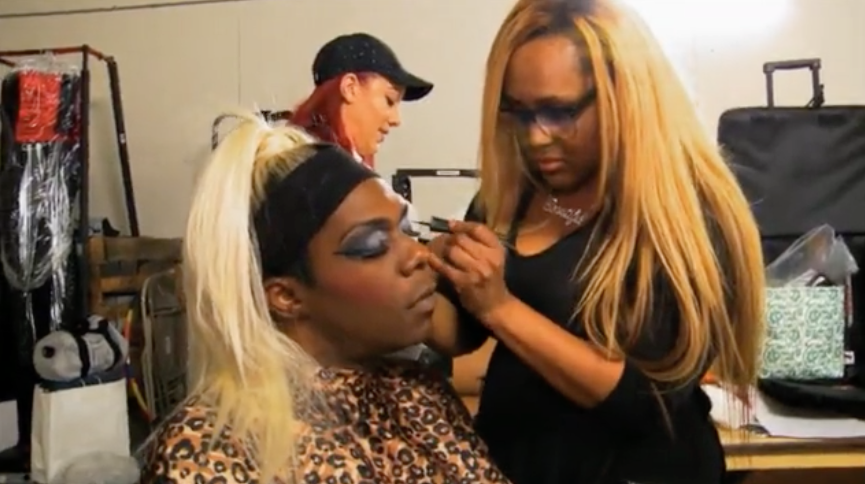 Big Freedia makeup