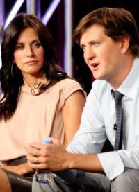 Bill Lawrence and Courteney Cox