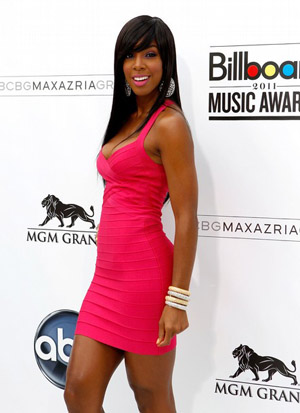 Kelly Rowland at the 2011 Billboard Music Awards