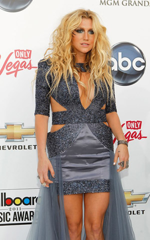 Ke$ha at the 2011 Billboard Music Awards