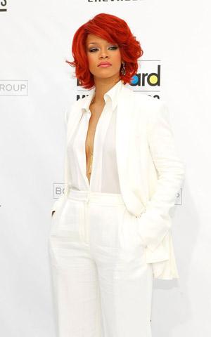 Rihanna at the 2011 Billboard Music Awards