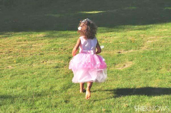 Biracial daughter