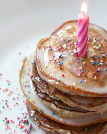Birthday Cake Pancakes SheKnows