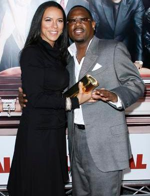 Martin Lawrence and guest World Premiere