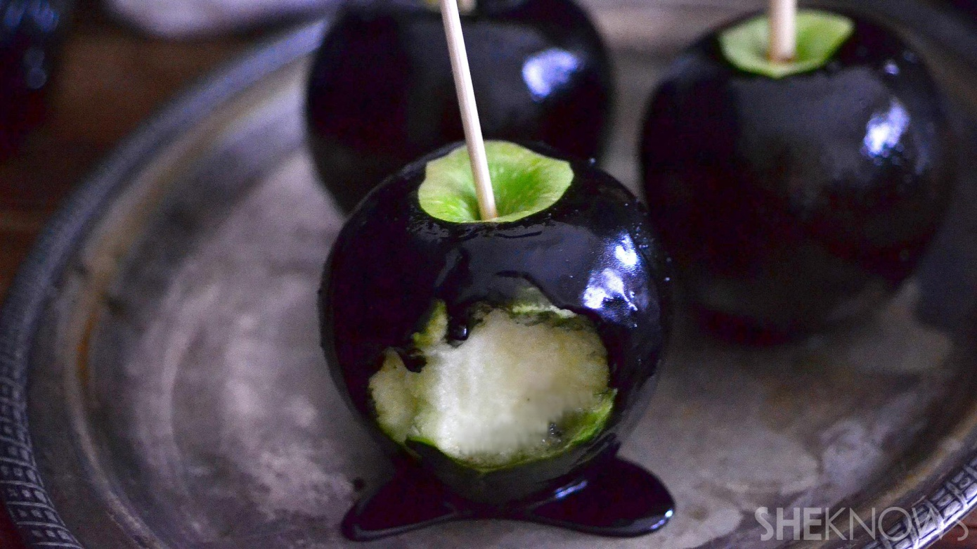 black poison apples