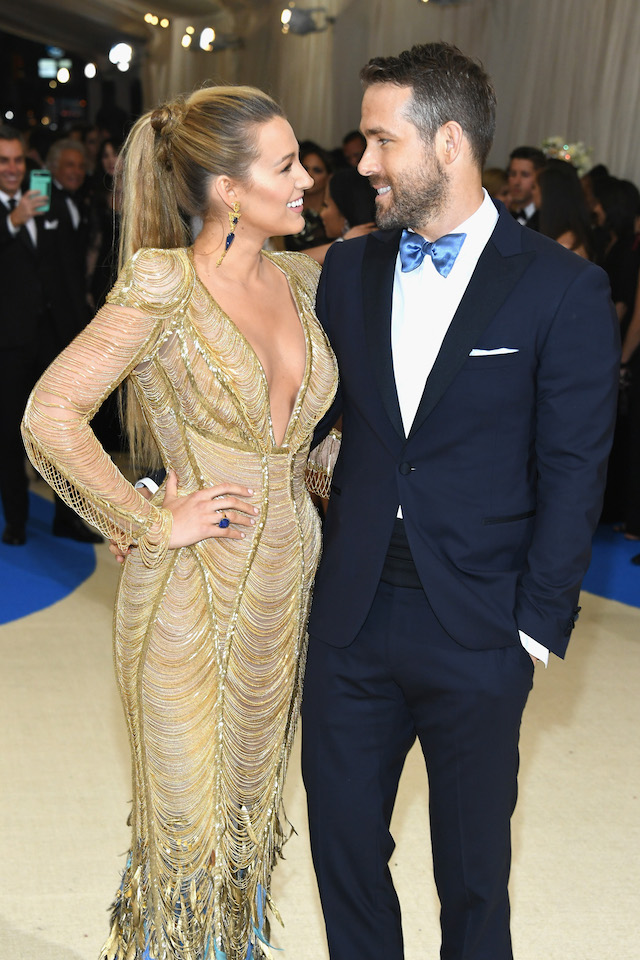 Blake Lively Ryan Reynolds Met Gala