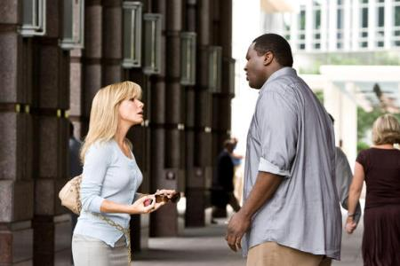 Sandra Bullock in The Blind Side, the Leigh Anne Tuohy story