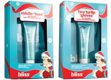 """Bliss Mistle """"Toes"""" and Two Turtle """"Gloves"""" Gift Sets"""