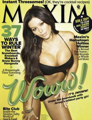 "JWoww calls Maxim cover ""my highest"