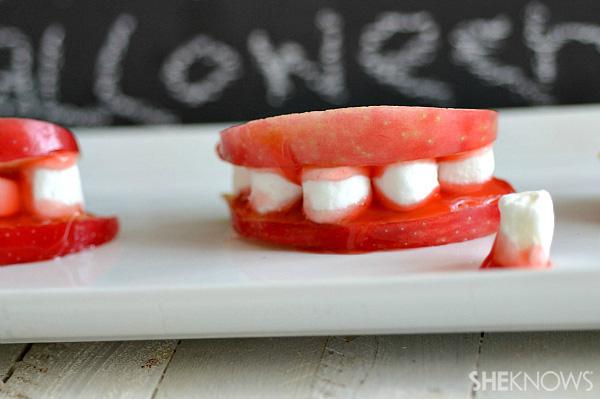 Bloody teeth treats