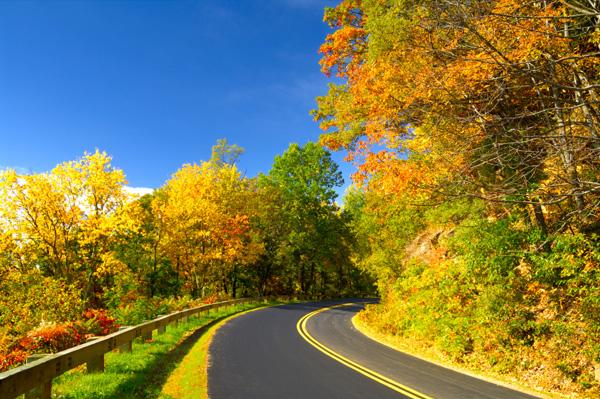 Blue Ridge in Fall