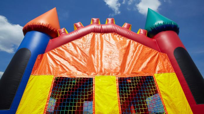 Serious injuries after bounce house flies