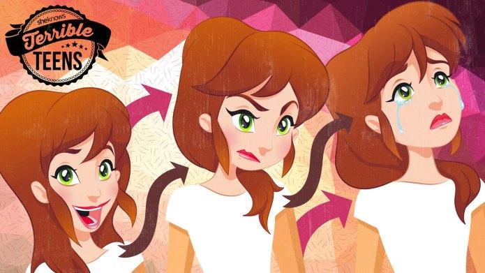 Terrible Teens: Hormonal daughters
