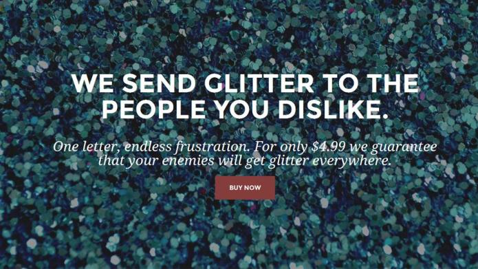 Send your enemies a glitter bomb with rad new service – SheKnows