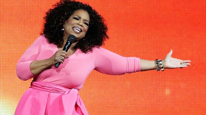 SYDNEY, AUSTRALIA - DECEMBER 12: Oprah