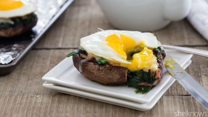 Breakfast portobellos are the 20-minute brunch