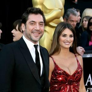 Penélope Cruz and Javier Bardem welcome