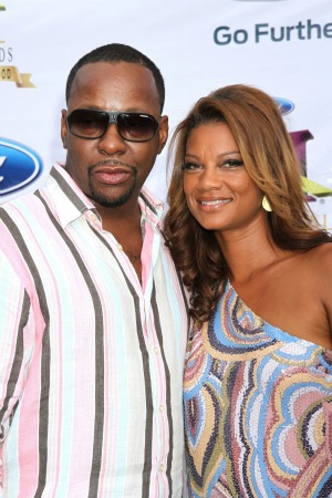 Bobby Brown and Alicia Etheredge-Brown