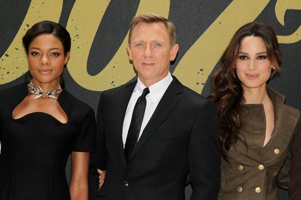 Naomie Harris, Daniel Craig, Berenice Marlohe