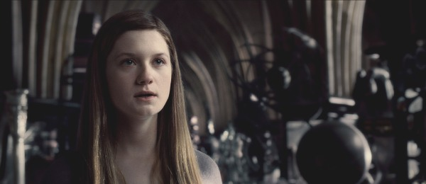 Bonnie Wright is ready for her close up in Harry Potter and the Half-Blood Prince