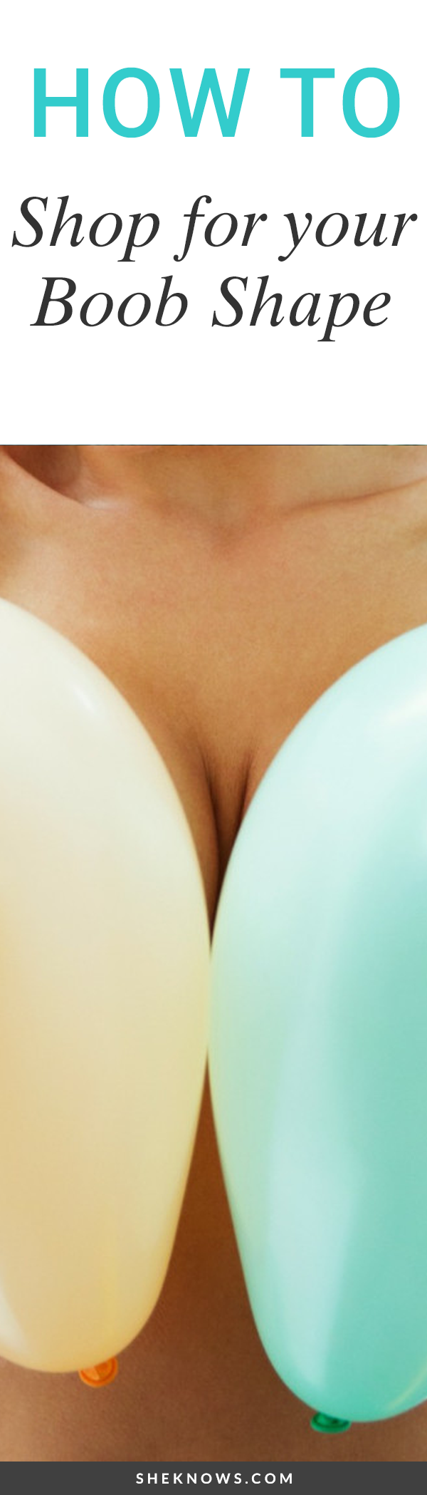 Pin it! Knowing your boob shape