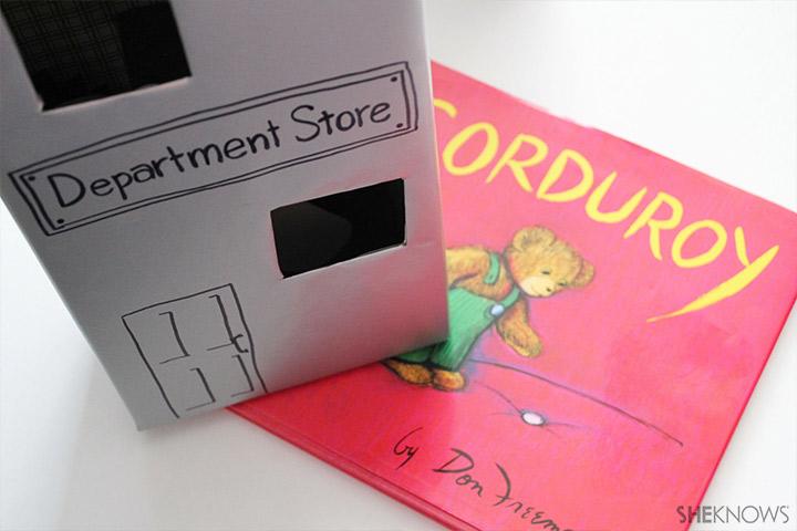 Corduroy Diorama