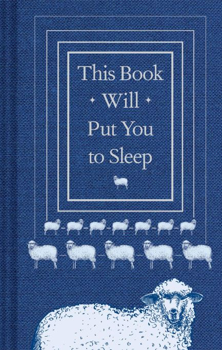 Gifts for better sleep | This Book Will Put You to Sleep