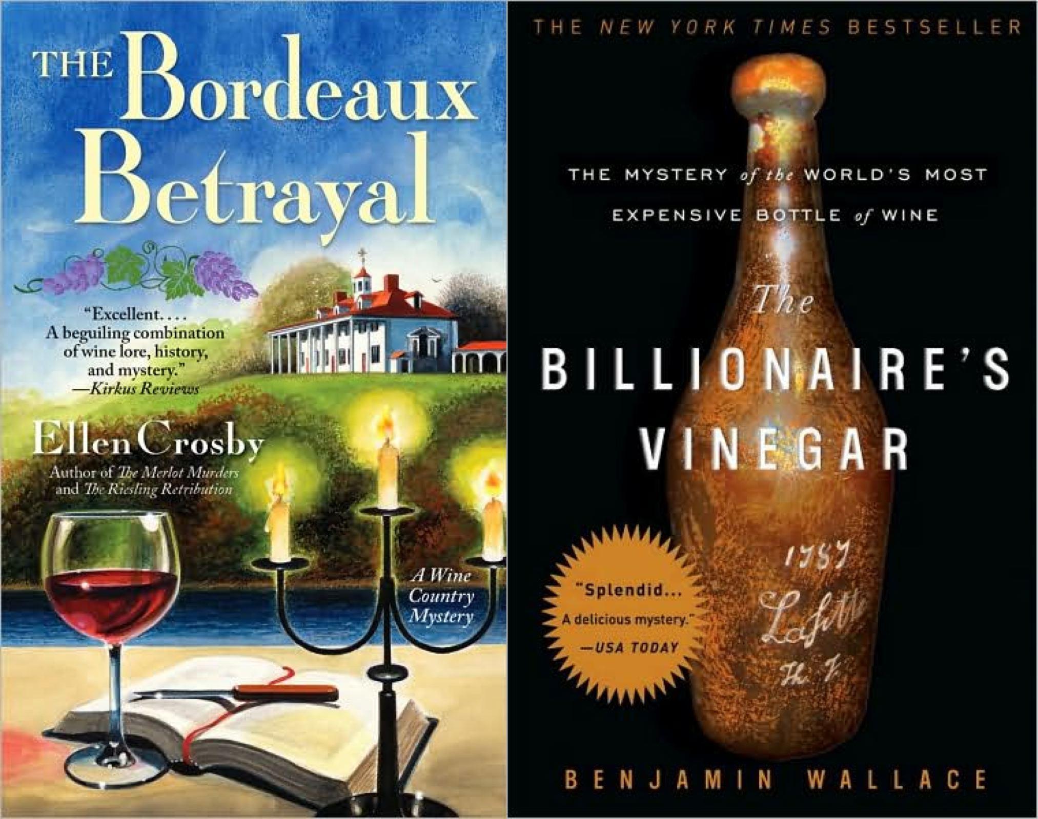 Bordeaux Billionaire Vinegar covers