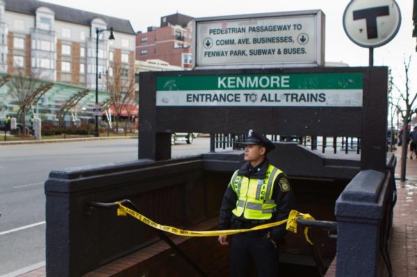 Boston bombing lockdown