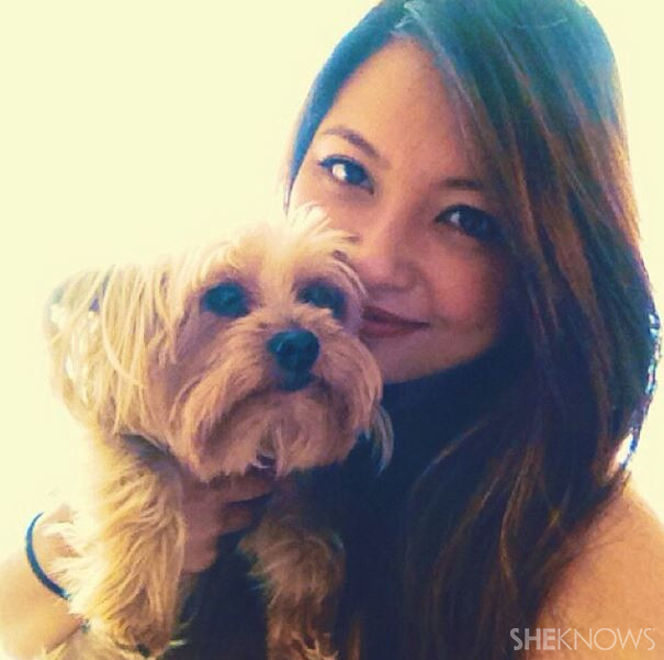 Bouvier and her Yorkie | Sheknows.com