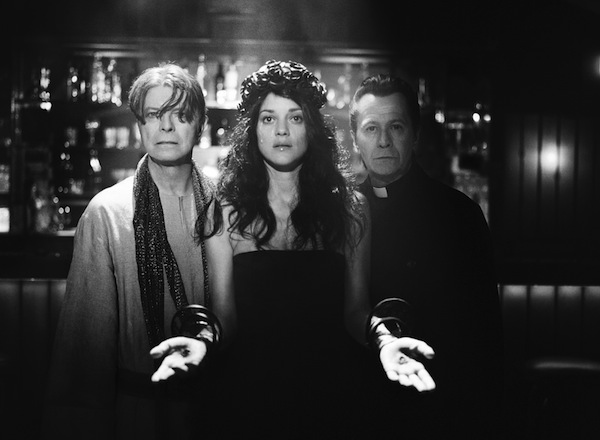 """David Bowie Marion Cotillard and Gary Oldman in """"The Next Day"""""""
