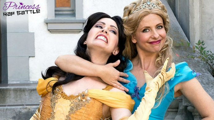 Sarah Michelle Gellar raps as Cinderella