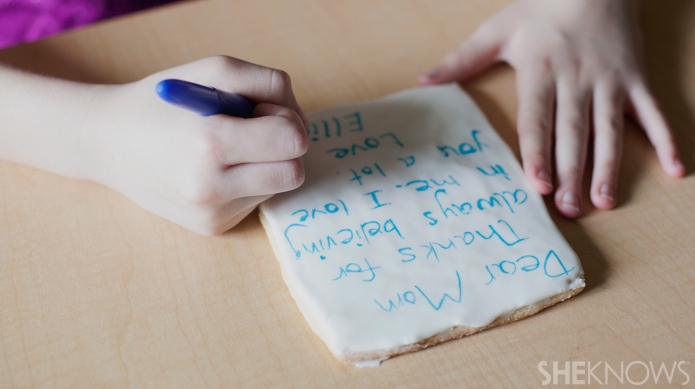 The sweetest (edible) letter Mom will