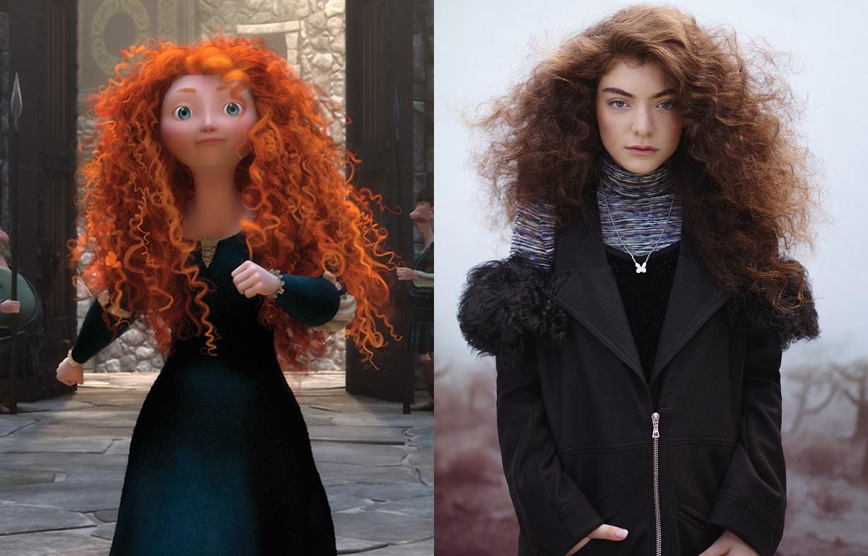 Merida, Brave and Lorde